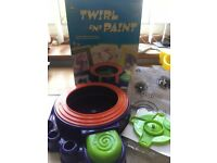 Twirl and paint only used once