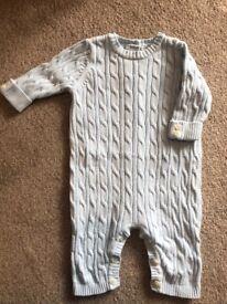 Designer Emile et Rose outfit age 1 month