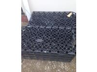2 large polystorm soak away crates