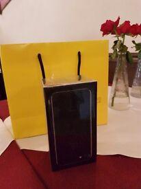 Iphone 7 Jet Black 256 GB boxed brand new 700£ retail price 800