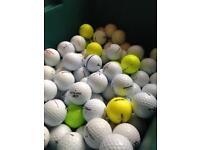 200 mixed golf balls