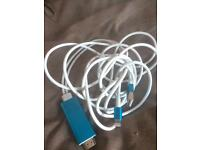 Iphone latest hdmi cable £30ono