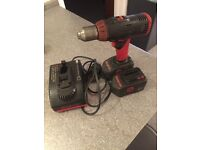 Snap On Cordless Drill + batteries and charger