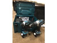 Makita Combi Drill Set LIKE NEW