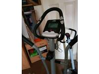 Cross trainer and Excersise bike