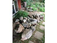Westmoreland Rockery Rocks/Stones (used/weathered)