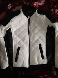 Brand new Black and White Jacket