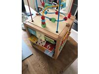 Toddler wooden play box (COLLECTION ONLY!)