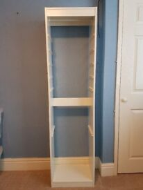 Ikea storage unit in white ideal for child's bedroom