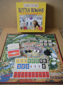 """Horrible Histories """"Rotten Romans"""" board game. From 2010. Excellent unused condition."""