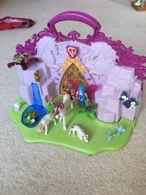 Unicorn and fairies playmobil set