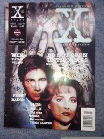17 COPIES X FILES MAGS (1995/96)
