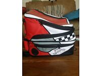 Motor bike rear backpack bag..
