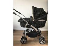 Mamas and Papas Primo Viaggio IP Car Seat, Pram and Stroller