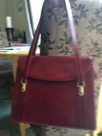 Leather Suzy smith handbag