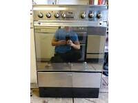Stainless steel dual fuel cooker delivered today