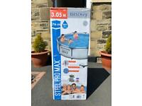 Bestway Steel Pro Max 10ft Frame Swimming Pool with Filter Pump
