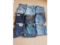 9 x designer denim jeans