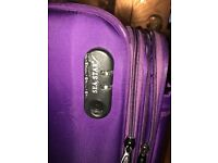 Lilac Cabin Luggage