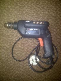 Black & Decker Electric Drill BD561 400Watt 10mm Made in England