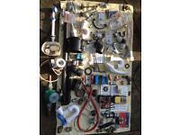 Plumbing parts and tools job lot