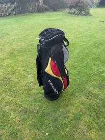 Golf Cart Bag 14 way Divider