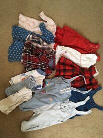Age 6-9 months clothes bundle