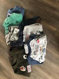 Boys 12-18 month jumper/hoodie bundle