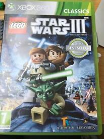 Xbox 360 Star Wars lll