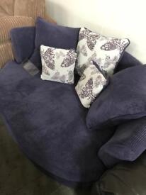 Ex display cuddle chair