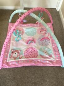Girls Pink Playmat