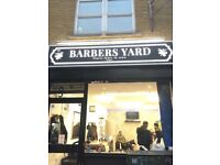 Professional barbers needed for BARBERS YARD!!