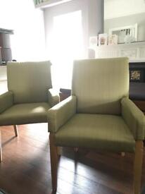 Ikea chairs with armrests