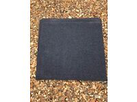 Excellent condition dark blue carpet tiles - 46cmX46cm each - 100s available