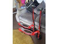 E100 electric razor scooters