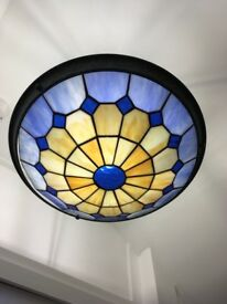 Tiffany style ceiling lamp