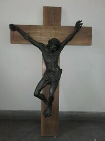Large Altar Chapel size Wall Crucifix- 4ft × 2ft 6ins