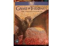 Game of thrones blu ray box set seasons 1-6