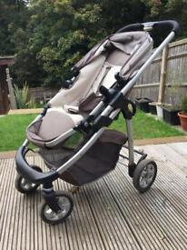 iCandy Cherry Buggy, footmuff, carrycot & car seat adapters