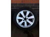X4 alloy wheels with tyres for sale