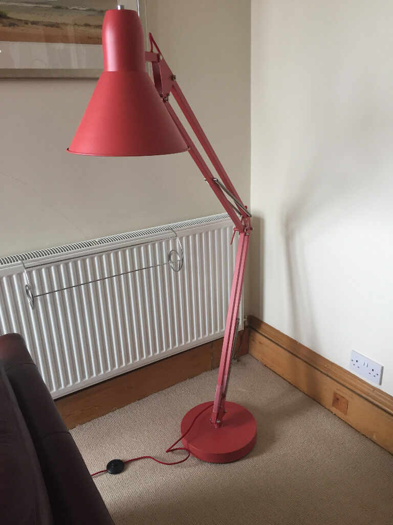 Floor standing anglepoise lamp in merchiston edinburgh gumtree floor standing anglepoise lamp aloadofball Image collections