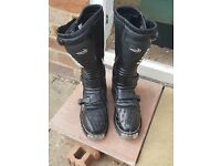 motorcross/enduro boots size 12