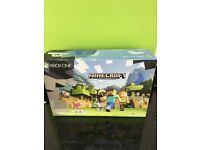 XBOX ONE S WITH MINECRAFT NEW UNOPENED