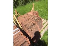 Used Marley modern roof tiles approx 200 £1.00 each buyer collects