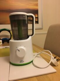 Philips Avent Combined Baby Food Steamer and Blender - Excellent Condition