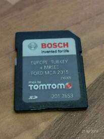 Ford MCA 2015 SD maps by TOMTOM