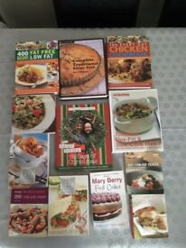 23 Cookery Books