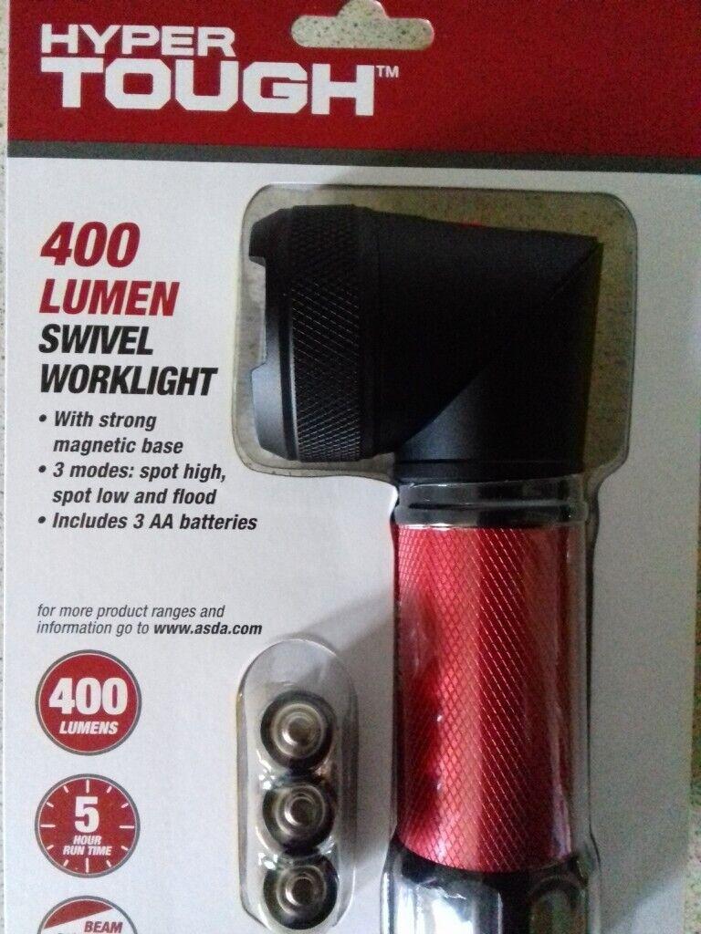 Hyper Tough 400 Lumen Swivel Led Worklight In Shipley West Yorkshire Gumtree