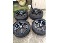 Fox Wheels with Matador tyres 6.5/15 4x100