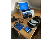 PS4 VR headset and games